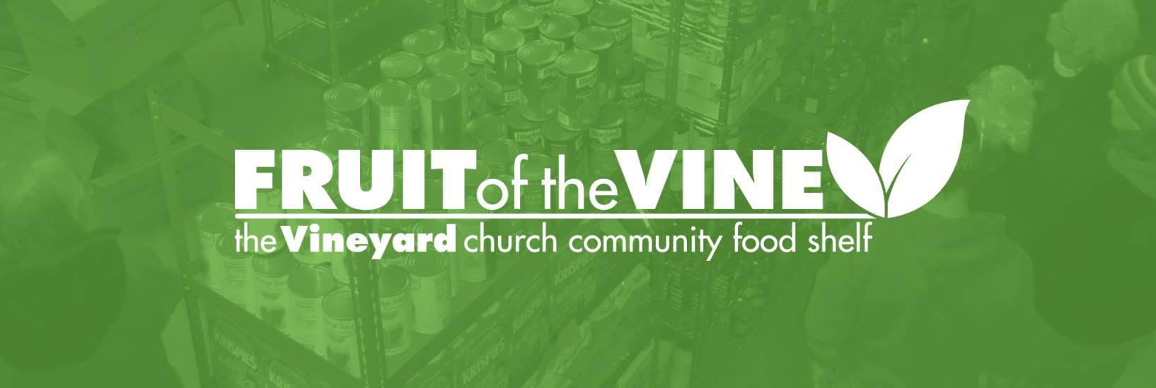 Fruit Of The Vine Food Shelf - The Vineyard Church